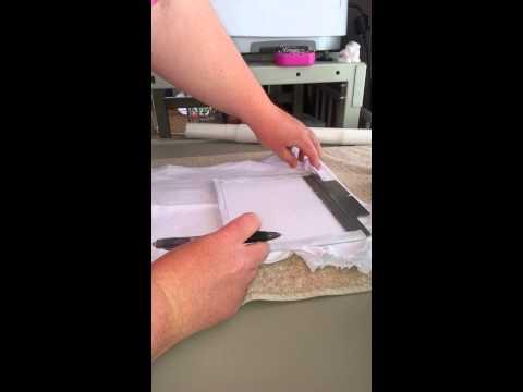 Putting shirt on fast frame