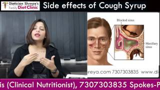 Warning, Side Effects of Cough Syrups -Dietitian Shreya