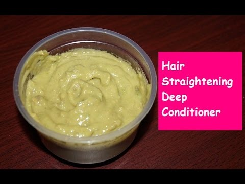 Get Straight Hair Naturally in 15 Minutes ( DIY Hair Straightening Conditioner)  | Sneha S