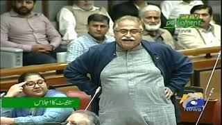 Maula Bukhsh Chandio Senate Main Izhar-e-Khayal Karahe Hain
