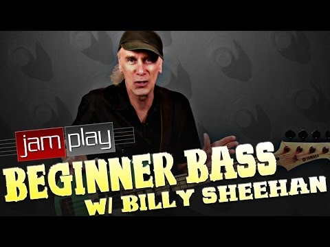 Beginner Bass Lesson #1 With Billy Sheehan