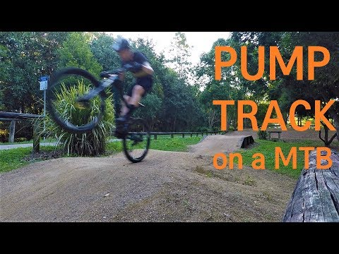 Pump Track on an Enduro Bike | RoostDay Tuesday Ep4