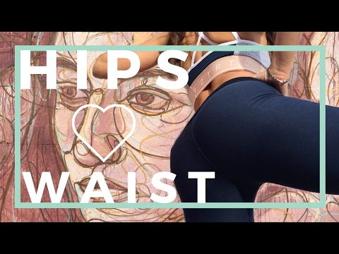 Who Else Wants to Get Rounder Hips and Reduce the Waist? | 5 Hip and Waist Exercises