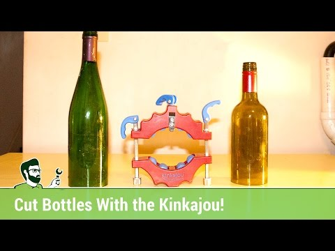 How to Cut Bottles with the Kinkajou Bottle Cutter