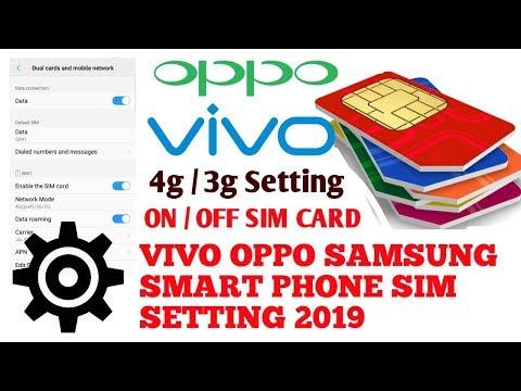 How To Find Sim Settings on Vivo Phones | Vivo Phones Sim