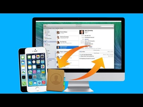 How to Import Contacts from iPhone to Mac and How to Add Contacts to iPhone on Mac