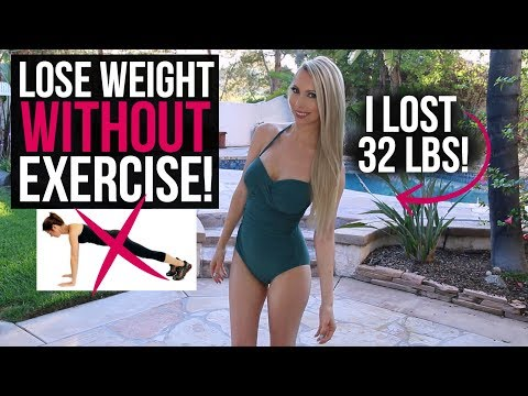 How to Lose Weight WITHOUT Working Out! (This Actually Works)