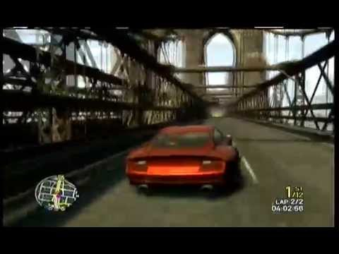 GTA 4 - SUPERCARS RACE - SOUTHERN SWITCH - XBOX 360 (16 Players/ 2 laps)