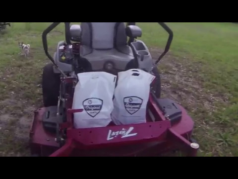 Exmark Lazer Z Engine oil/filter and Hydraulic oil/filter change how to