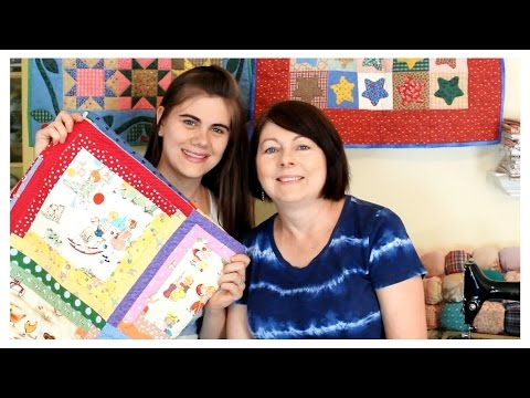 Log Cabin Baby Quilt {DIY Inspiration} - Whitney Sews