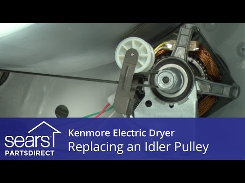 How to Replace a Kenmore Electric Dryer Idler Pulley