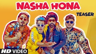 Song Teaser ► Nasha Hona | Harshit Tomar Ft. Rishhsome | Releasing on 18 Oct 2019
