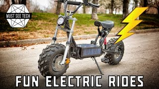 Top 5 Fun Adventure Vehicles Powered by Electricity