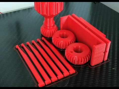 Simple Method for removing sticky 3d-printed Objects from the Build-Plate