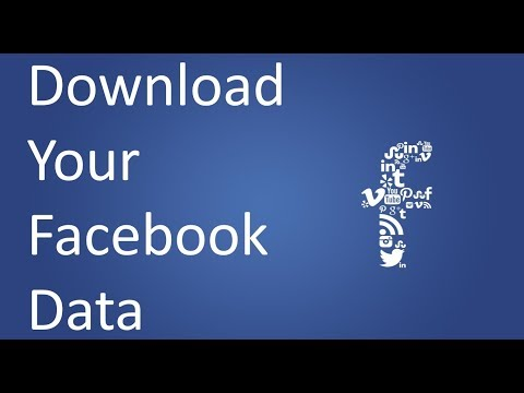 How to Download Your Facebook Data ( Profile, Photos, Posts, Activities etc)