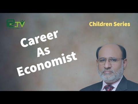 Career as Economist by Yousuf Almas