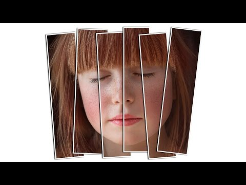 Vertical Panels collage | Photoshop Effects tutorial | Photo Effects