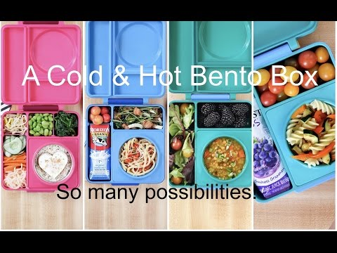 A new way to pack lunch with OmieLife OmieBox | Hot & Cold Bento Box