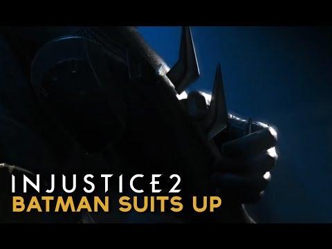 Injustice 2 - Batman Suits Up for his Battle Against Superman & Brainiac