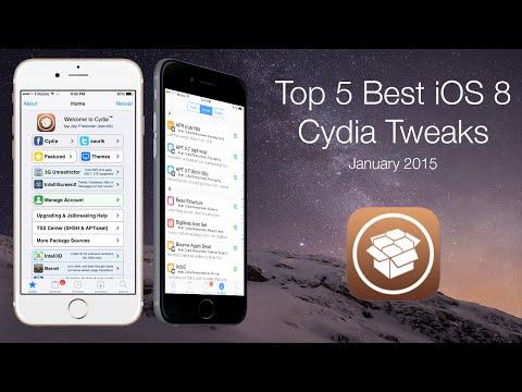 Top 5 Best iOS 8 Cydia Tweaks: January 2015