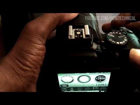 Manual Settings of Nikon D3400 DSLR Camera Tutorial Video