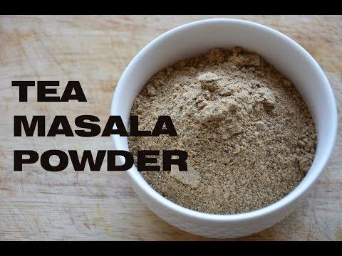 how to make tea powder / tea masala