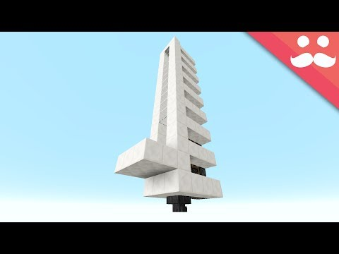 The Simplest PISTON ELEVATOR in Minecraft!