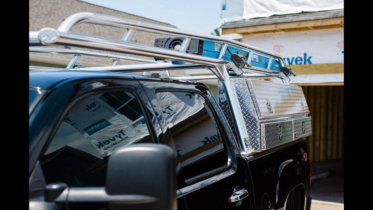 Ryder Rack Silver - Aluminum Ladder Rack For Pickup Trucks