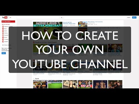 Music Marketing: YouTube [How To Create Your YouTube Channel] (Music Business Lesson MM-007)