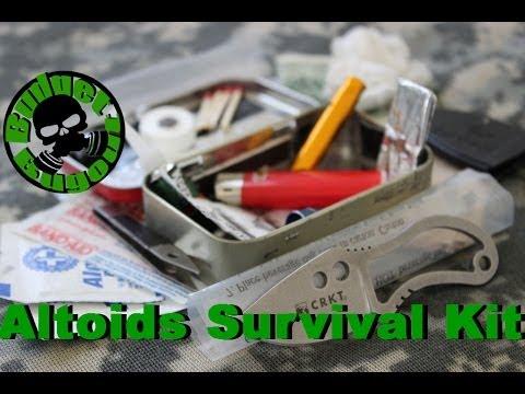 Altoids Survival Kit 2.0
