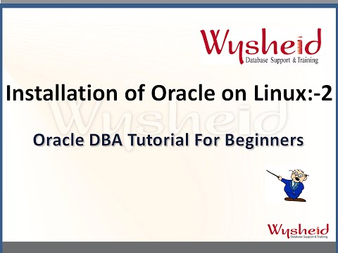 Oracle 11g Installation on linux part  2 | Oracle Tutorial For Beginners | Oracle DBA Videos