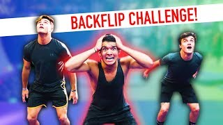 Download Doing My First BACKFLIP! Video