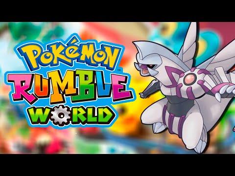 Pokémon Rumble World - White Balloon e Palkia
