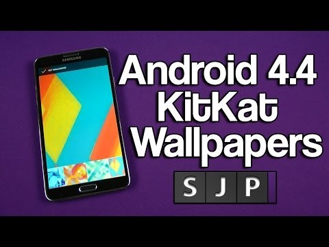 Android 4.4 KitKat Wallpapers + Download Links