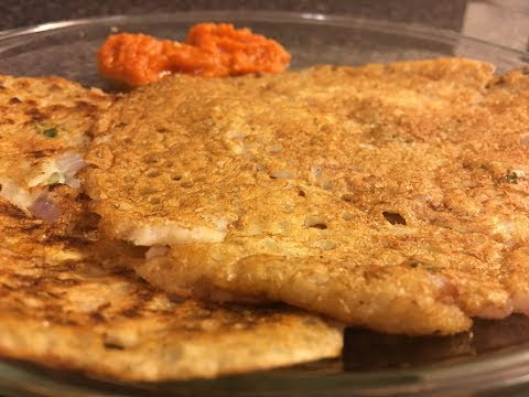 Instant Oats dosa (quick and healthy)