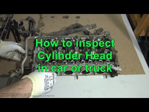 How to inspect Cylinder Head in car or truck