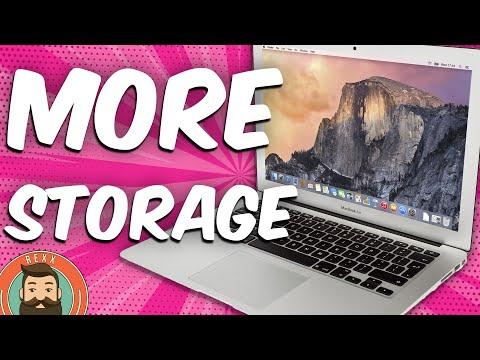 How to Increase Macbook Air Storage