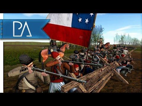 Rebel Bayonet Charge!: American Civil War - North & South: First Manassas Mod Gameplay