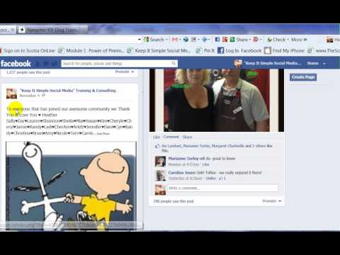 How to Edit a Posting on Your Facebook Business Page