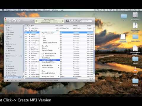 How to Convert Itunes to MP3