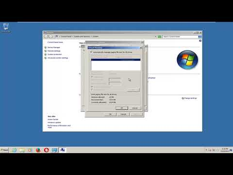 Windows 7 - Adjust the Virtual Memory Pagefile Setting And Increase Performance