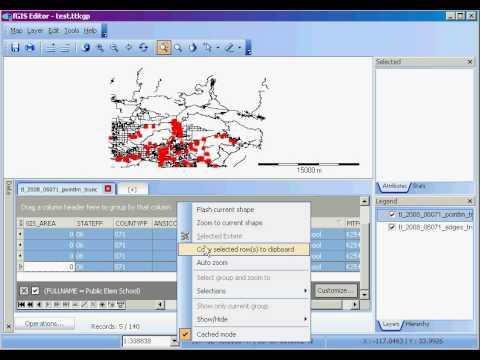 fGIS: Data Panel