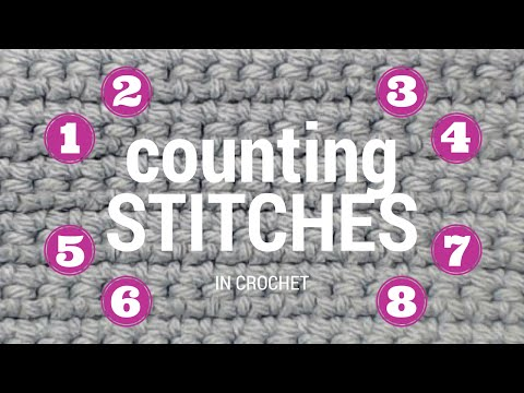 Counting Stitches in Crochet