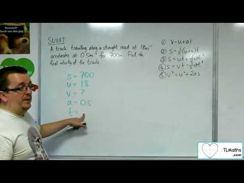 A-Level Maths 2017 Q3-05 [SUVAT: Using the Formulae Example 4]