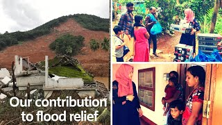 Our contribution to flood relief fund -Taste tours by Shabna hasker