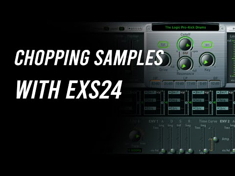 Chopping Samples with EXS24 - Logic Pro X Quick Tip