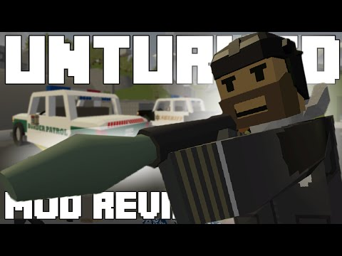 AWESOME SWAT AND POLICE GEAR!!! - Unturned Mod Showcase