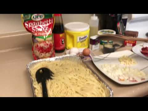 Spagetti With Corned Beef