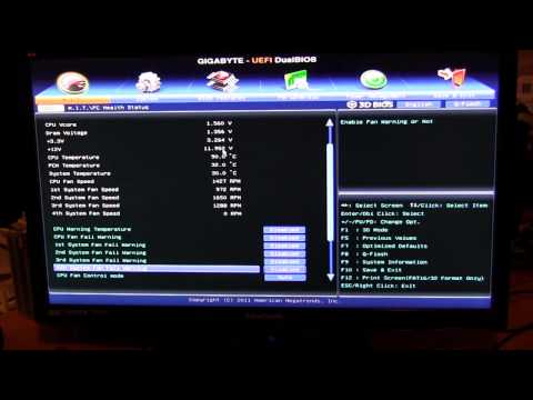 Gigabyte UEFI BIOS Overview (Z77X-UD4H)