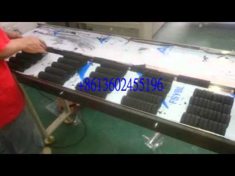 Automatic flow packing machine automatic hookah charcoal packing machine